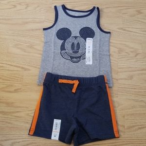 Mickey tank set